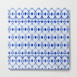 big diamond tie-dye Metal Print