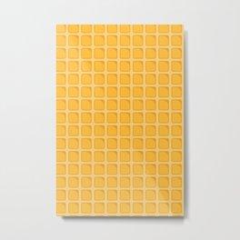 waffle Metal Print