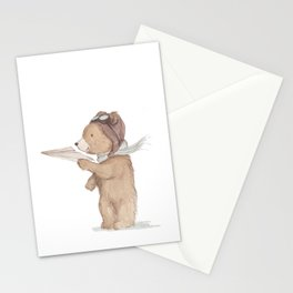 Aviator Bear Stationery Cards