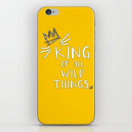 King of All Wild Things - Max iPhone Skin
