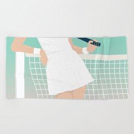 Let's Play #society6 #decor #buyart Beach Towel