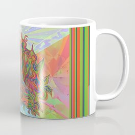 AlChemical - with landscaped background inc birds Coffee Mug