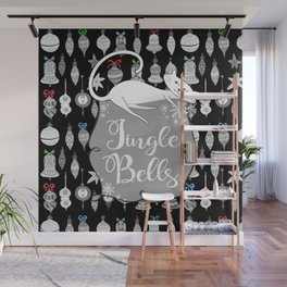 Jingle Bells - Christmas Cats Wall Mural