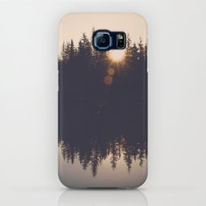 Wooded Lake Reflection Slim Case Galaxy S6