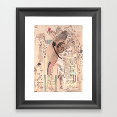 Bassist Framed Art Print