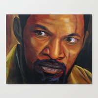 django Canvas Prints featuring Django by DavyR