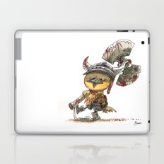 Poussin Barbare Laptop & iPad Skin