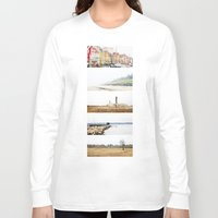 denmark Long Sleeve T-shirts featuring Denmark by Delphine Comte