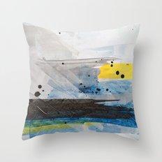 Dusty Sea Throw Pillow
