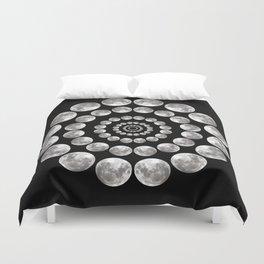 Moon Mandala Duvet Cover