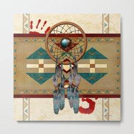 Catching Spirit Native American Metal Print