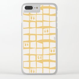 The Many Face of Me Clear iPhone Case
