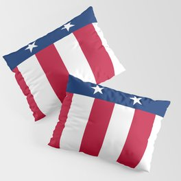 State flag of Texas, official banner orientation Pillow Sham