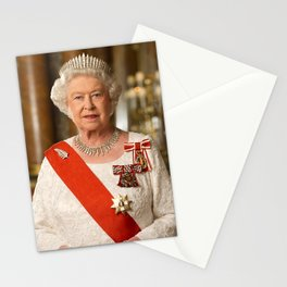 Queen Elizabeth Stationery Cards