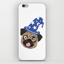 Wizzard Pug iPhone Skin