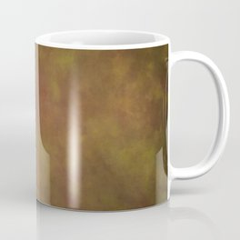 Abstract Watercolor Patch Work Blend 11 Light Brown & Dark Brown, Earth Tones Coffee Mug
