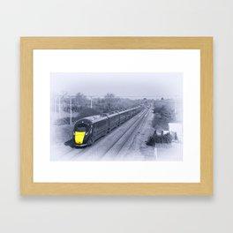 Cogload IET blues Framed Art Print