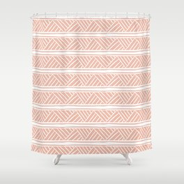 Millennial Mudcloth Shower Curtain
