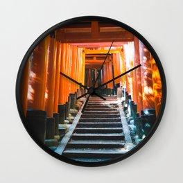 Fushimi Inari Taisha Wall Clock