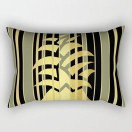 Pineapple Glam Rectangular Pillow