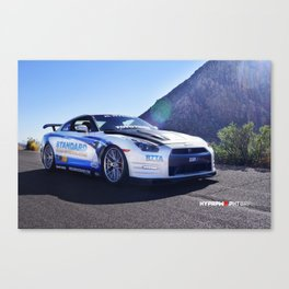 """Show Stopper"" 2014 Nissan GT-R Straight out of SEMA Canvas Print"