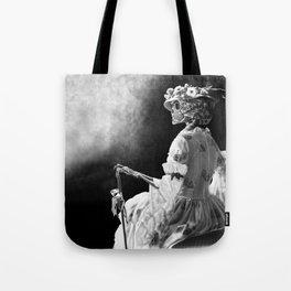 Lady Skeleton Tote Bag