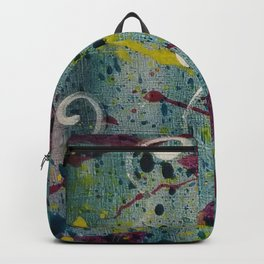 Mini Abstract 10 Backpack