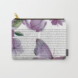 Wonderland (Purple) Carry-All Pouch