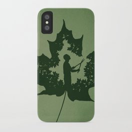 A New Leaf iPhone Case