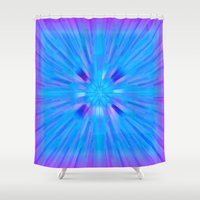 cracked Shower Curtains featuring Cracked! by Shawn King