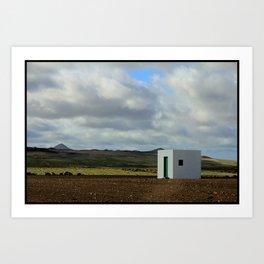 Cube - Lanzarote Art Print
