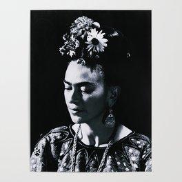 Frida Kahlo Darkness Poster