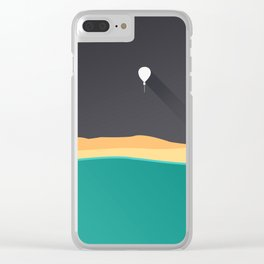 fly balloon Clear iPhone Case