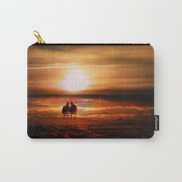 Seagulls - Lovebirds at Sunset Carry-All Pouch