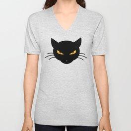 Evil Kitty Unisex V-Neck