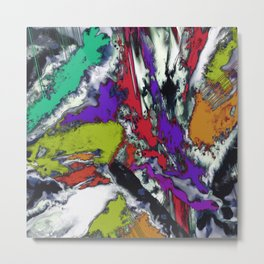 Mind motion Metal Print