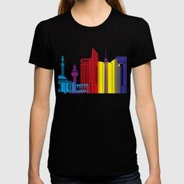 Jeddah skyline pop T-shirt