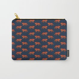 Tyson the Tiger pattern print Carry-All Pouch
