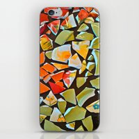 mosaic iPhone & iPod Skins featuring Mosaic by Maggie Dylan