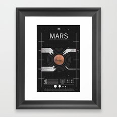 OMG SPACE: Mars 1990 - 2030 Framed Art Print