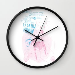 MONTREAL LEGENDS - ANTONIO Wall Clock