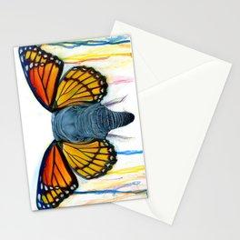 Butterfly Elephant Stationery Cards