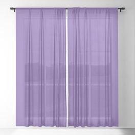 VIOLET Sheer Curtain