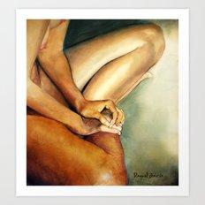 Naked/2 Art Print