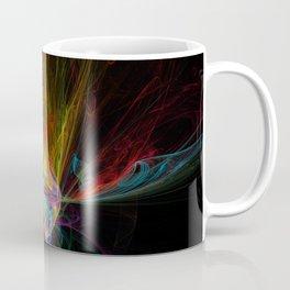Fractal on black Coffee Mug