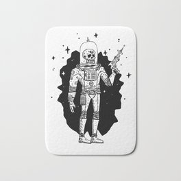 Intergalactic Bone Man Bath Mat