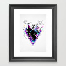 Heart Of Glass - Kris Tate x Ruben Ireland Framed Art Print