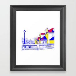 Romania Framed Art Print