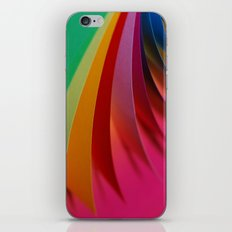 Colorful Paper iPhone & iPod Skin