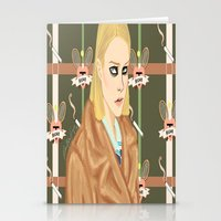 tenenbaum Stationery Cards featuring Margot Tenenbaum  by Maritza Lugo